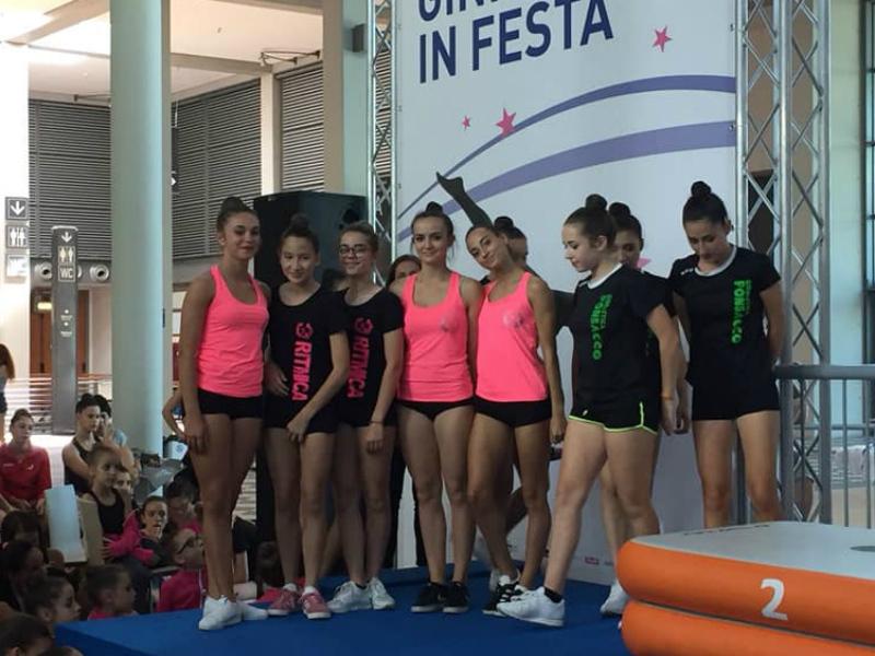Ginnastica Ritmica: 33 atlete ai campionati Italiani