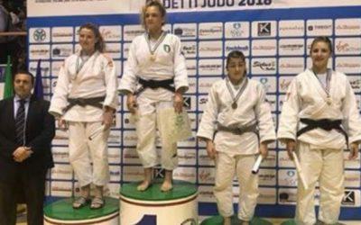 Judo: secondo posto ai campionati Italiani Cadetti e cintura nera per Carolina Mengucci