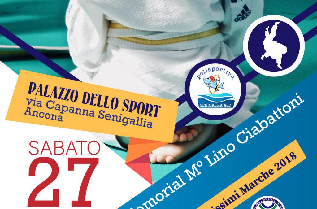 Judo: 9° Memorial Lino Ciabattoni e assegnazione del Premio Maestro Stefano Pompei