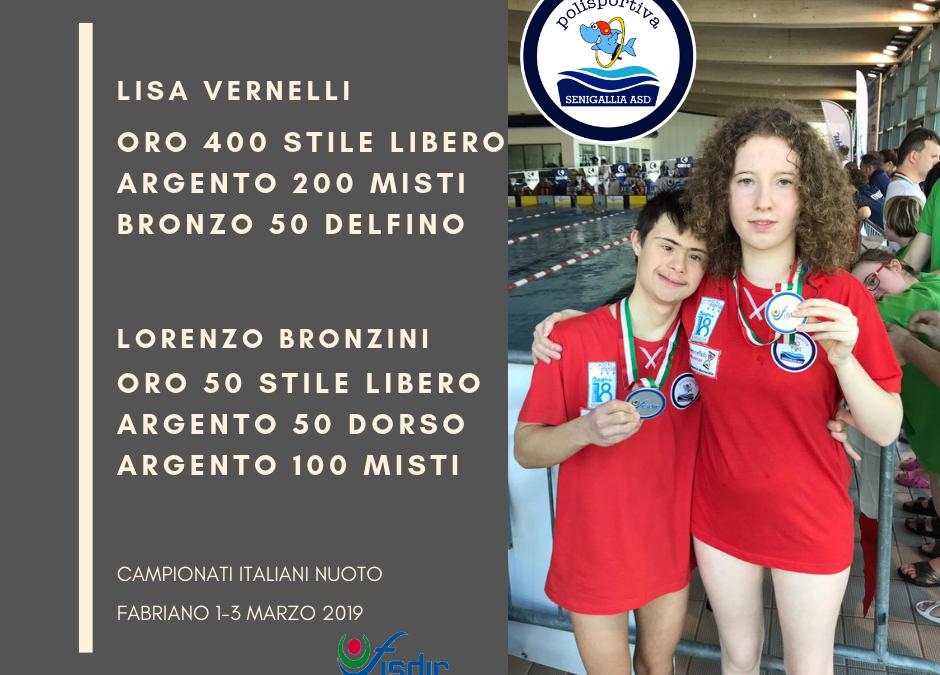 Nuoto Paralimpico: ancora Campioni Italiani!