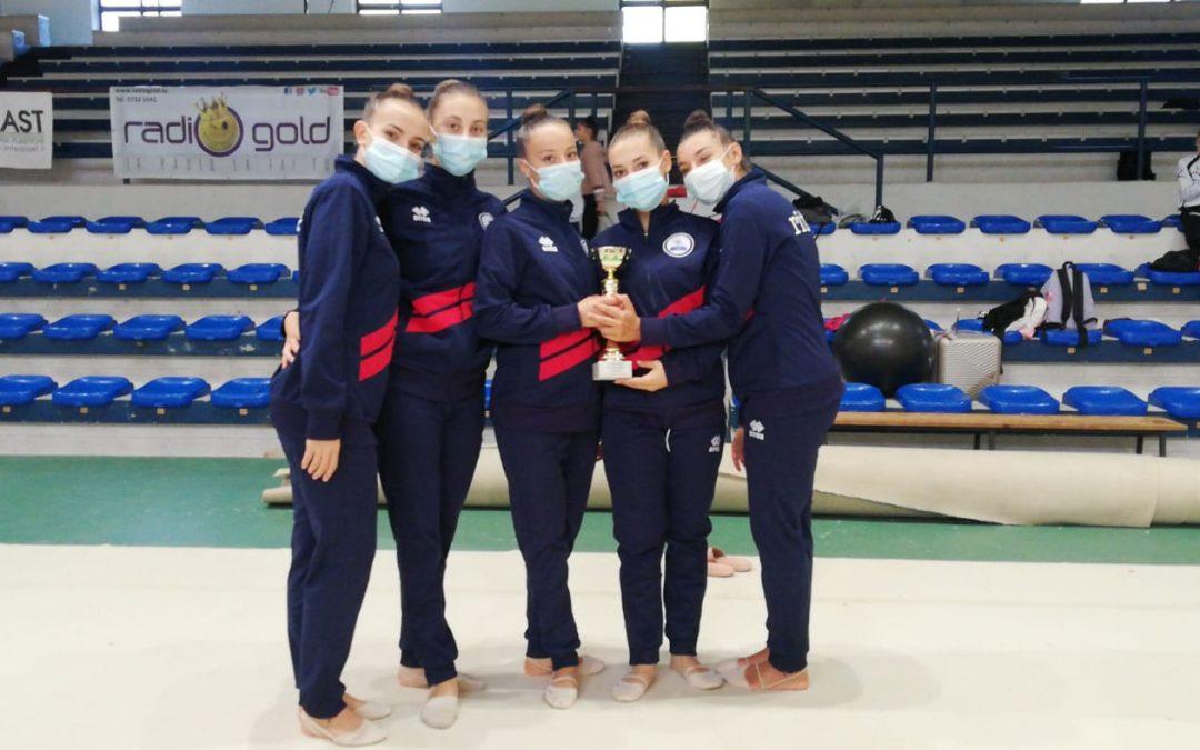 Ginnastica: un bel podio per la squadra Gold